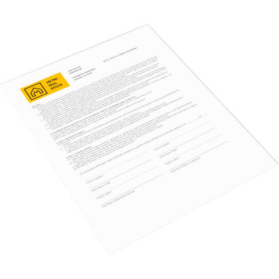 Xerox® Bold Digital Carbonless Paper - XER3R12435 - 8-1/2 x 11 - White - 500 Sheets