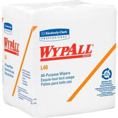 """WypAll® L40 Quarterfold Wipers - 12-1/2'X x 12""""D - KIM05701"""