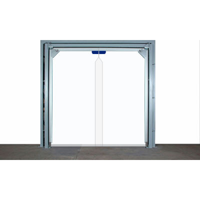 Clearway Flexible PVC Double Impact Door FDSC700BSM072108 - 6' W x 9' H