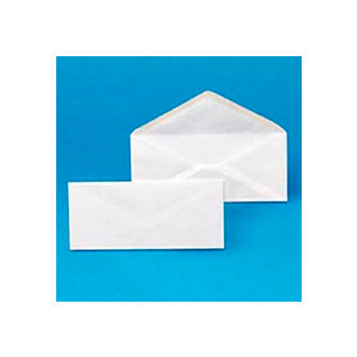 Plain Envelopes, #10, 4-1/8 x 9-1/2, White, 500/Box