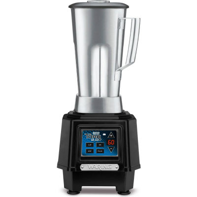 Waring® Torq Bar Blender, 64 Oz. Stainless Steel Jar, Timer, 2 Speed, 2 HP