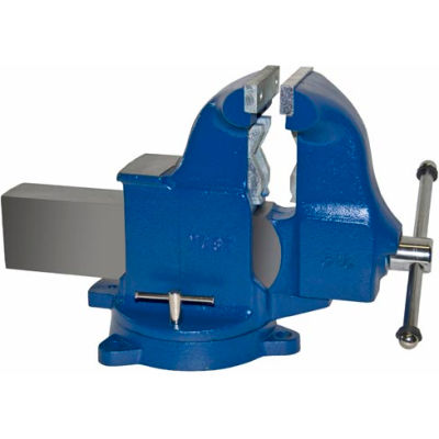 "Yost 6"" Heavy Duty Combination Pipe & Bench Vise - Swivel Base"