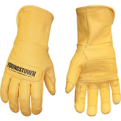 Leather Utility Gloves - Leather Utility Plus - Large