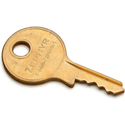 Control Key for Zephyr1925 Series Padlocks