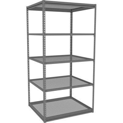 "Tennsco Z-Line Boltless Shelving w/ Perforated Steel Industrial Shelves- 42""W x 36""D x 84""H- Starter"