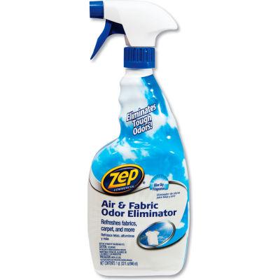Zep® Commercial Air and Fabric Odor Eliminator, Fresh, 32 oz Spray Bottle, 12/Carton - ZUAIR32