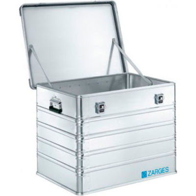 """Zarges K-470 Aluminum Shipping and Storage Case 40566 - 31-1/2""""L x 23-5/8""""W x 24""""H Silver"""