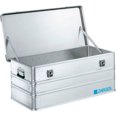 """Zarges K-470 Aluminum Shipping and Storage Case 40567 - 39-3/8""""L x 19-11/16""""W x 16-1/8""""H Silver"""