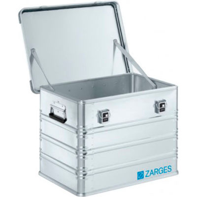 """Zarges K-470 Aluminum Shipping and Storage Case 40837 - 25-5/8""""L x 18-7/8""""W x 18-7/8""""H Silver"""