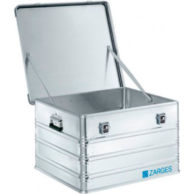 """Zarges K-470 Aluminum Shipping and Storage Case 40843 - 29-1/8""""L x 27-3/16""""W x 18-1/8""""H Silver"""