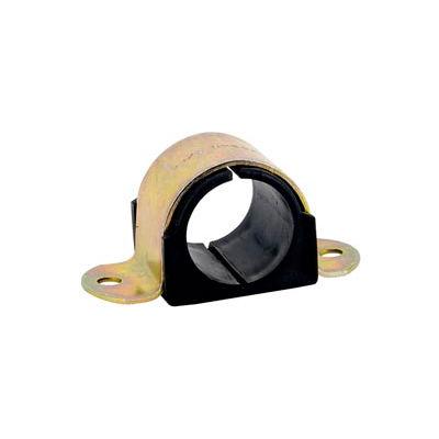 "3/8"" Tube Od Zinc Plated Omega Cushion Clamp - Pkg Qty 25"