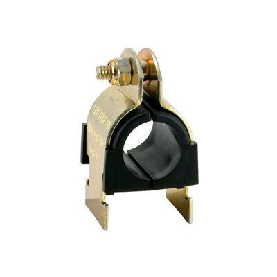 "1/4"" Pipe Zinc Plated Anti-Vibration Cush-A-Clamp - Pkg Qty 25"