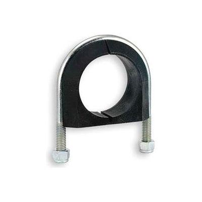 "1/2"" Nom. Pipe S/S U-Bolt Cushion Pipe Clamp"