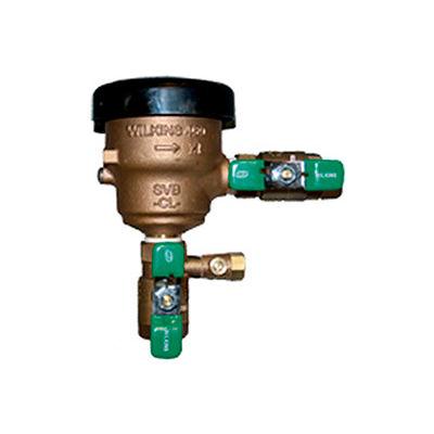 Zurn 34-460XL 3/4 In. FNPT x FNPT Spill Resistant Pressure Vacuum Breaker - 150 PSI - Cast Bronze