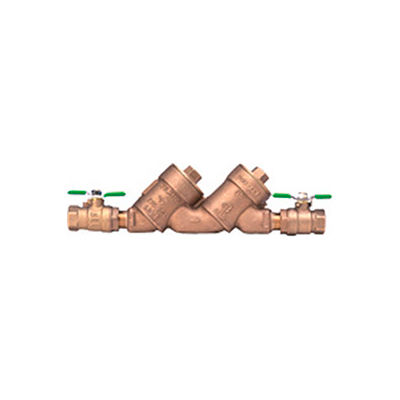 Zurn 34-950XLT2 3/4 In. FNPT x FNPT Double Check Valve Assembly - 175 PSI - Lead-Free Cast Bronze