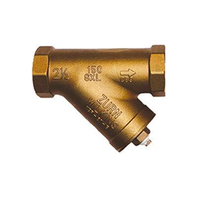 Zurn 34-SXL 3/4 In. FNPT x FNPT Strainer - 20 Mesh Screen - 300 WOG Lead Free Cast Bronze