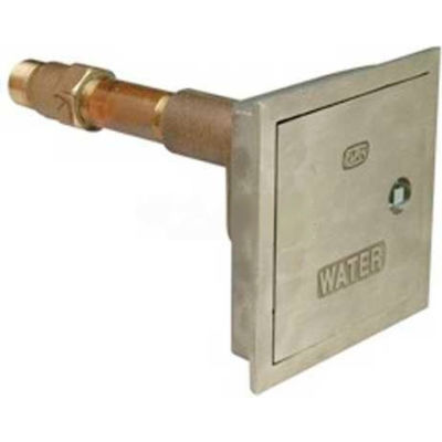 """Zurn Z1300-3/4X22 Automatic Draining Wall Hydrant, Encased Ecolotrol, Anti-Siphon, 3/4"""" x 22"""""""