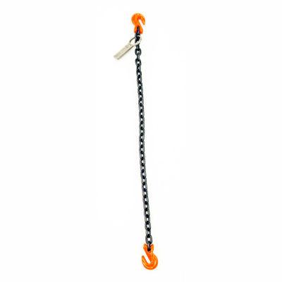 Mazzella Lifting B151109 10' Single Leg Chain Sling W/ Grab Hook