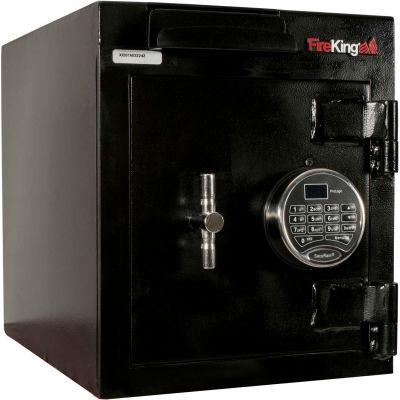 FireKing Drop Drawer Safe B1512WD-FK1 12-13/16 x 17-1/4 x 15-3/16 Electronic Lock 1.44 Cu Ft Black