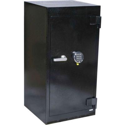 "FireKing Security Safe B4020IC-FK1 20-1/2""W x 20""D x 41""H Electronic & Key Lock 6.81 Cu. Ft. Black"
