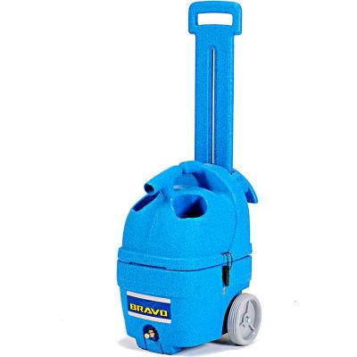 "EDIC Bravo 3 Gallon Carpet Spotter, 55 PSI Pump, 106"" Waterlift, Heat Ready - 300MH"