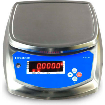 Brecknell C3236-30 Washdown Checkweigher Scale, 30 lb x 0.002 lb