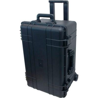 "TZ Case Cape Buffalo Waterproof Utility Wheeled Case CB-028-B - 24-5/8""L x 16-1/2""W x 13-3/8""H Black"
