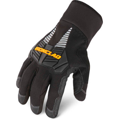Ironclad CCG2-04-L Cold Condition 2 Gloves, 1 Pair, Black, Large