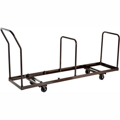 Interion® Chair Cart for Folding Chairs - Vertical Stack - 35 Chair Capacity