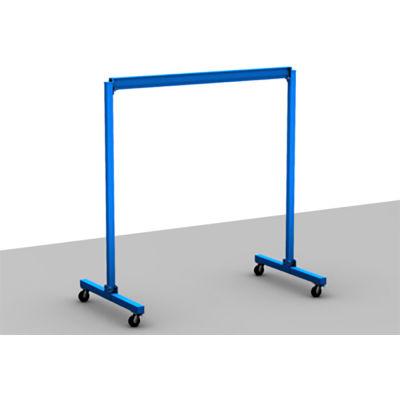 Gorbel® Fixed Height Steel Gantry Crane, 30'W x 15'H, 2000 Lb. Capacity