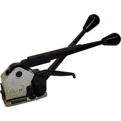 """Teknika MUL-20-34 Heavy Duty Adjustable Sealless Combination Strapping Tool for Steel, Set for 3/4"""""""