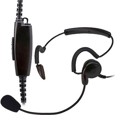 RCA HS12-X03S Office and Retail Two-Way Radio Headset with Screw-In Connector