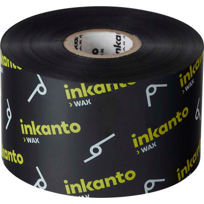 Inkanto T65115IO Resin-Enhanced Wax Ribbon, 220mm x 450m, AWX FH, 6 Rolls/Case