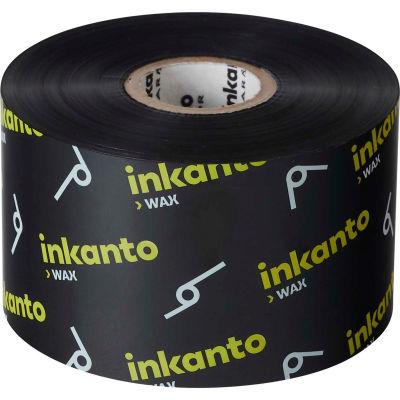 Inkanto T66404IO Resin-Enhanced Wax Ribbon, 165mm x 360m, AWX FH, 6 Rolls/Case