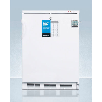 """Summit VT65MLPLUS2 24"""" Wide Manual Defrost Counter Height All-Freezer, 3.2 Cu.Ft. Capacity"""