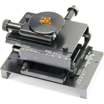 Dino-Lite MS15X-S1 XY Base with Rotating Table (Optional For MS35B/MS36B Stands)