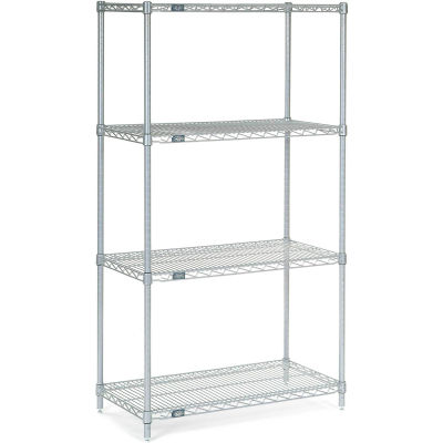 "Nexel® S1842C Chrome Wire Shelf 42""W x 18""D"