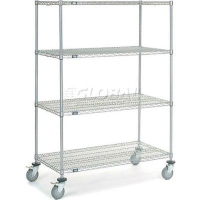 Nexelate® Wire Shelf Truck 48 x 24 x 69 1200 Pound Capacity