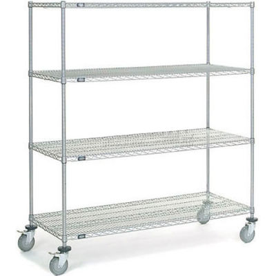 Nexelate® Wire Shelf Truck 60 x 24 x 69 1200 Pound Capacity