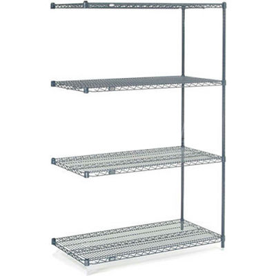 "Nexelon® Wire Shelving Add-On 48""W x 18""D x 74""H"