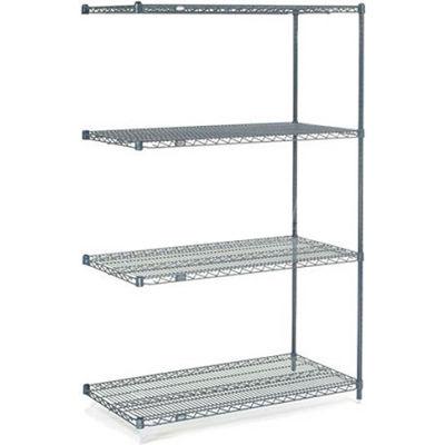 "Nexelon® Wire Shelving Add-On 48""W x 18""D x 63""H"