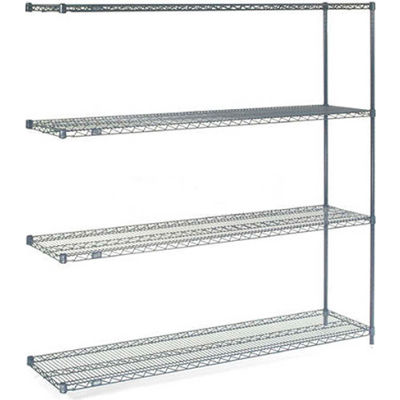 "Nexelon® Wire Shelving Add-On 60""W x 24""D x 86""H"
