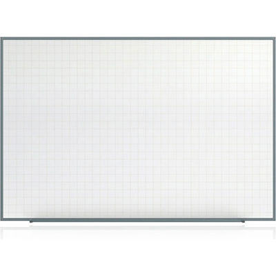 """Ghent Whiteboard w/ 4 Markers & Eraser - White Painted Steel - 48"""" x 72"""""""