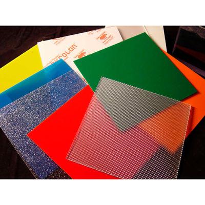 "AIN Plastics Polycarbonate Sheet, 48""W. x 96""L .375"" Thick, Clear"