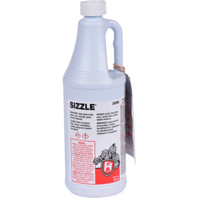 Hercules Sizzle® Drain and Waste System Cleaner, Quart Bottle - 20305 - Pkg Qty 12