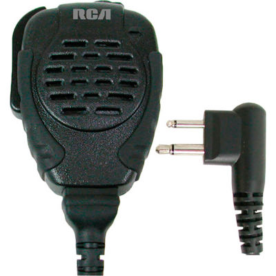 RCA SM310-X03 Police Style Rubberized Speaker Mic, Heavy Duty