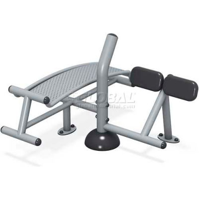 ActionFit by Ultrasite™  Sit-up/ Back Ext (Footing Mount)