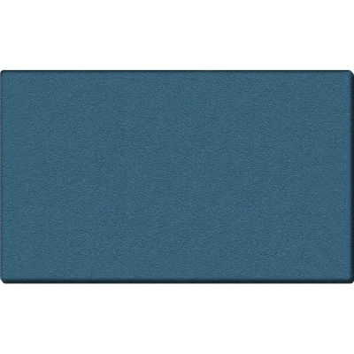 Ghent Bulletin Board - Vinyl - Wrapped Edge - 4' x 5' - Ocean